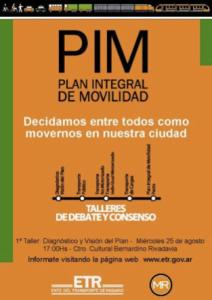 PIM, Plan Integral de Movilidadde Rosario
