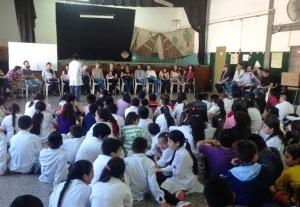 Taller Educativo con un Colegio en el Barrio Sustentable del Sindicato de la Carne