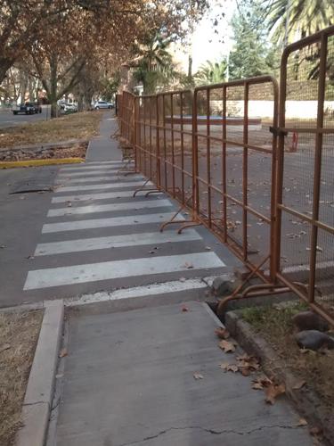 Imagen tomada en calle San Martín, Luján de Cuyo, Mendoza en Julio del 2015